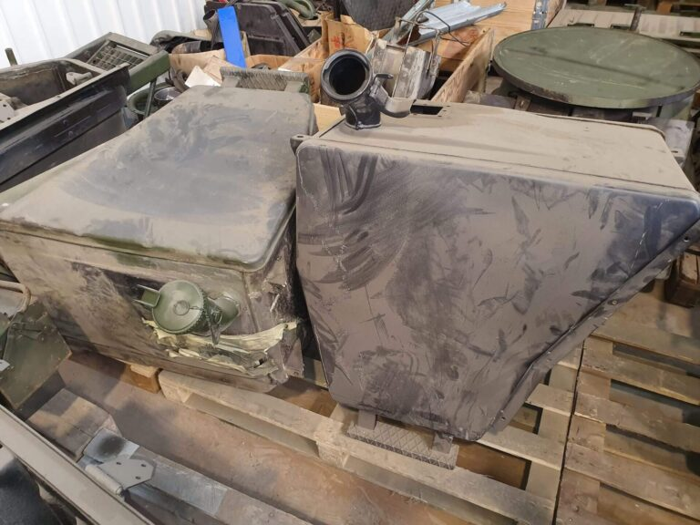 Restoration of vehicle components - 2 - Completed works - Baltic Defence and Technology