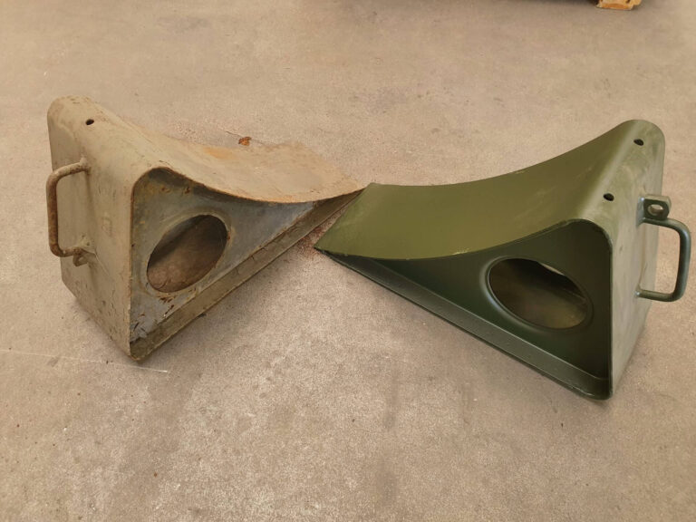 Restoration of vehicle components - 4 - Completed works - Baltic Defence and Technology