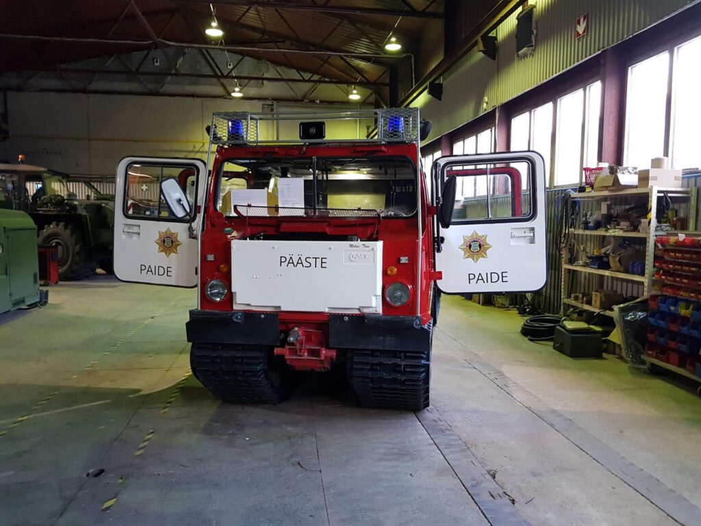Maintenance and repair of special purpose vehicles - Services - Baltic Defence and Technology