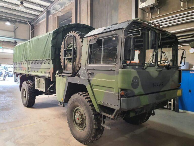 Militaarsõidukite hooldus ja remont - Teenused - Baltic Defence and Technology