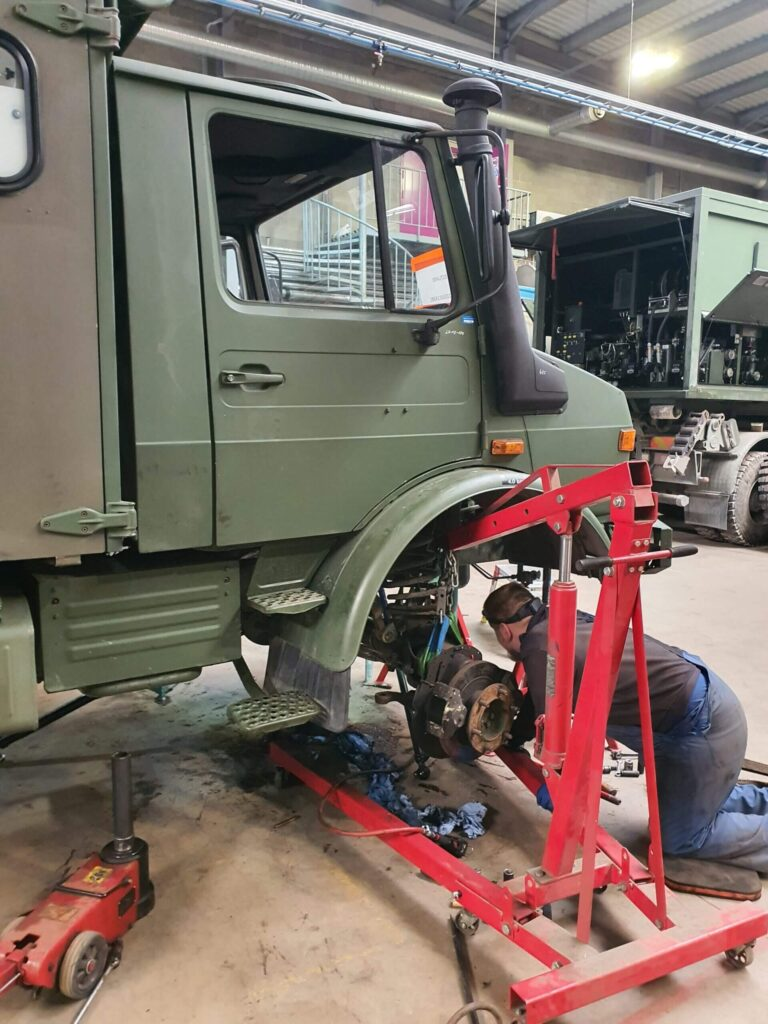 Vehicle project 2020 - 1 - Completed works - Baltic Defence and Technology