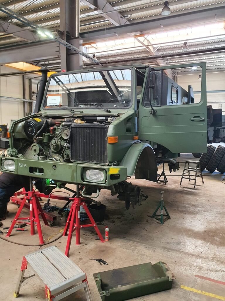 Vehicle project 2020 - 2 - Completed works - Baltic Defence and Technology