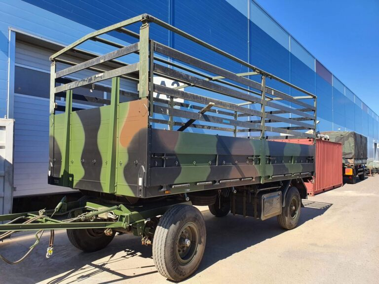 Vehicle project 2020 - 3 - Completed works - Baltic Defence and Technology